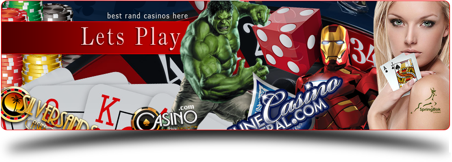 Best Rand playing online casinos.